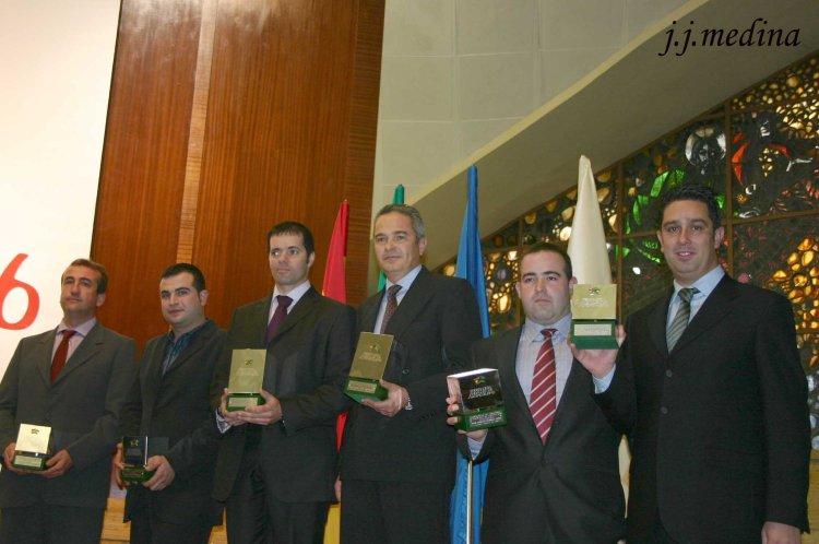 Podium Campeonato de Andalucía de Rallyes 2006