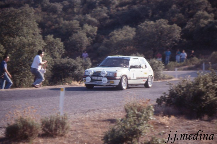 Francisco Palomo, Rallye Valle Pedroches 89