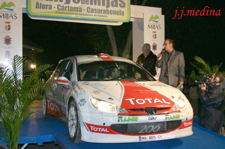 Emilio Segura, Peugeot 206 S1600