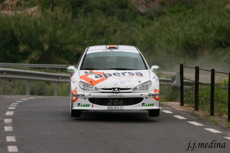 David Pérez, Peugeot 206 Super 1600