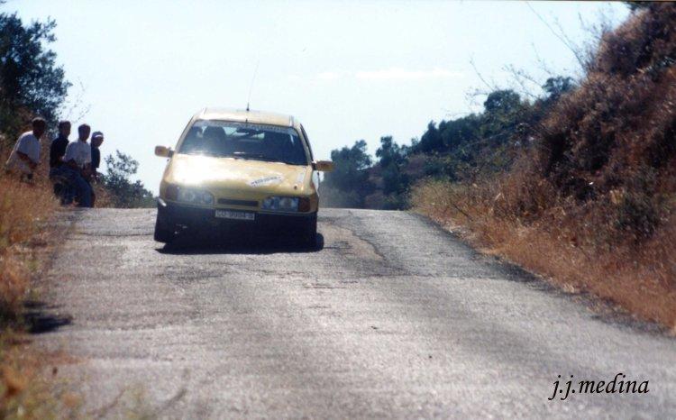 Paco López, Ford Sierra Cosworth, Rallye Bofrost 98