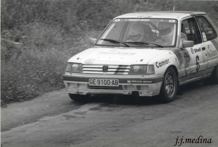 3Juan Antonio Tobaruela, Peugeot 309 GTI 16 v