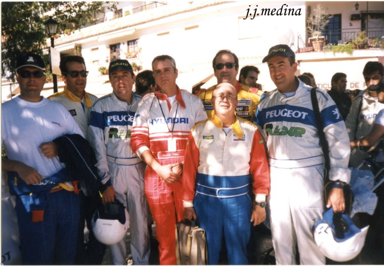 Pilotos y copilotos Rallye Costa del Sol 2002