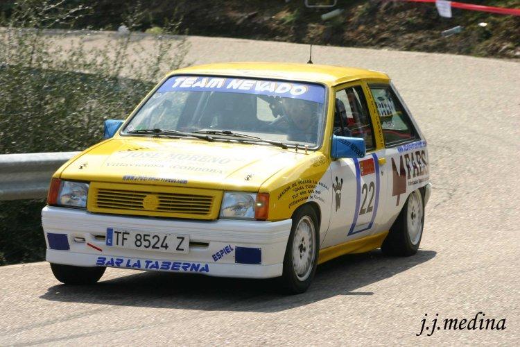Antonio Nevado, Opel Corsa Gsi Cronometrada de  Adamuz 2010