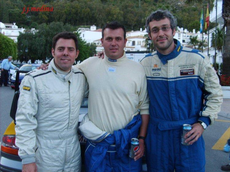 Oscar Gil, Manuel Muñoz y Manuel Causse