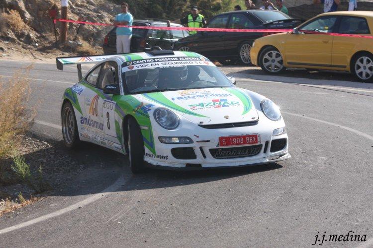 José Antonio Aznar, Porsche 997 GT3 Rallye