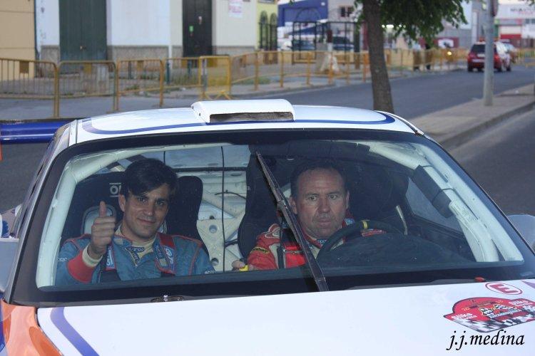 José Crisanto Galán, Porsche 997 GT3, Rallye Slicks Sevilla 2013