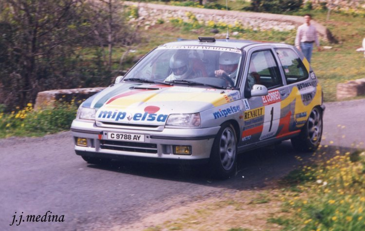 Rafael Palomares Renault Clio Williams