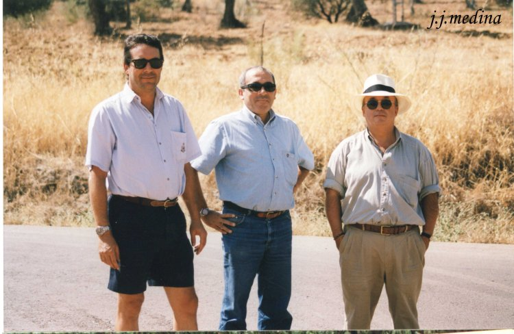 Enrique Villa, JuanDíaz  y Federico Garret
