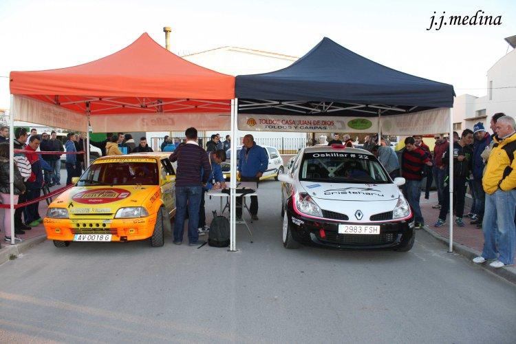 Citroën AX de Coca-Benítez y Renault Clio Sport de Viciedo-Montoya