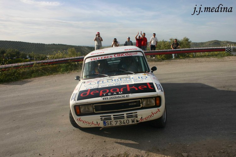 Dani Hernández, Seat 124, Rallye de Montilla 2008