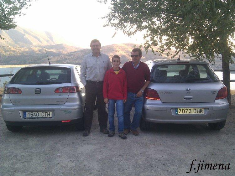 A. Vallejo, F. Jimena jr. y  J.JMedina