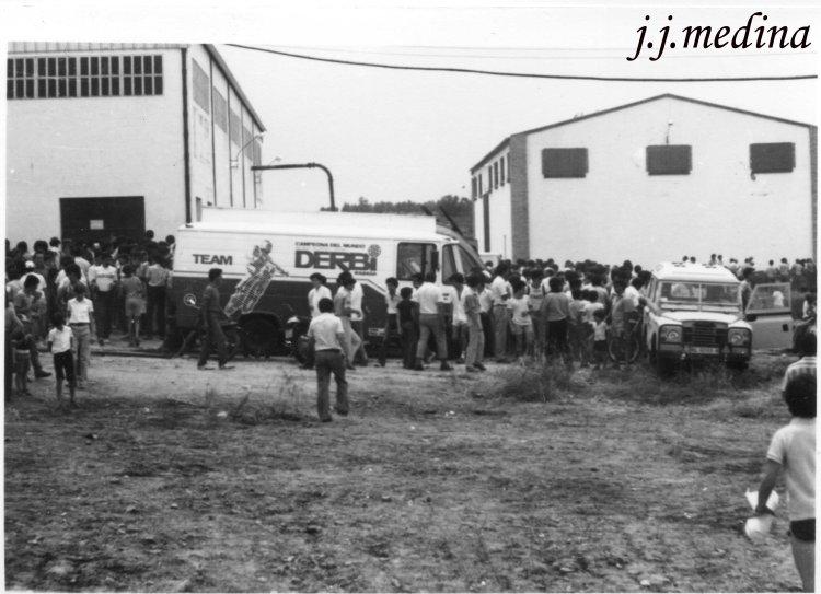 Motocross en Montilla Julio 1982