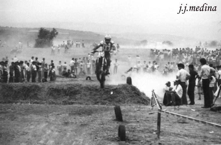 Motocross en  Montilla, Julio 1982