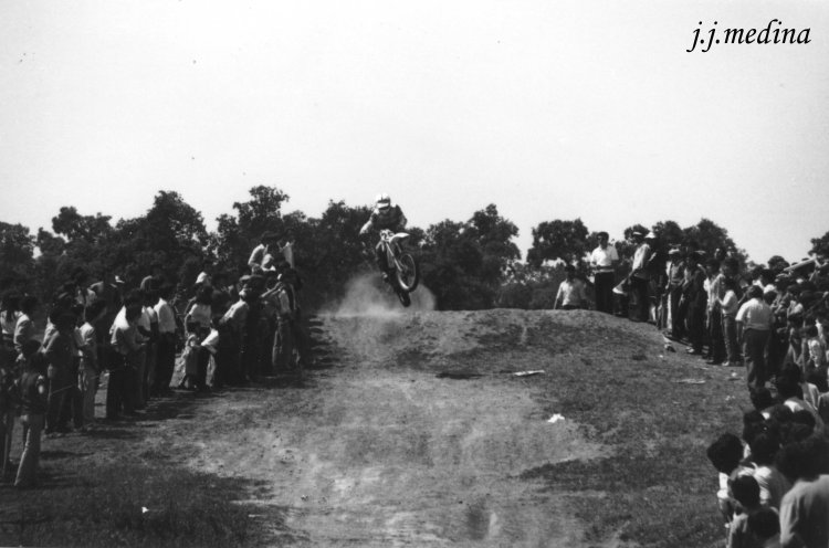 Motocross en Almodóvar, 1982