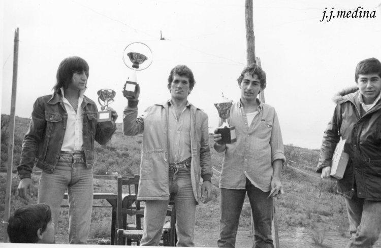 Motocross en Osuna 1982