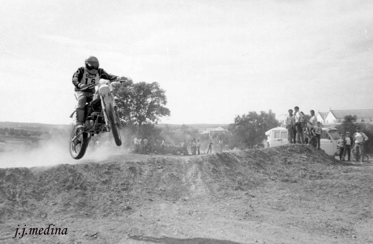 Motocross en  Montoro 1982