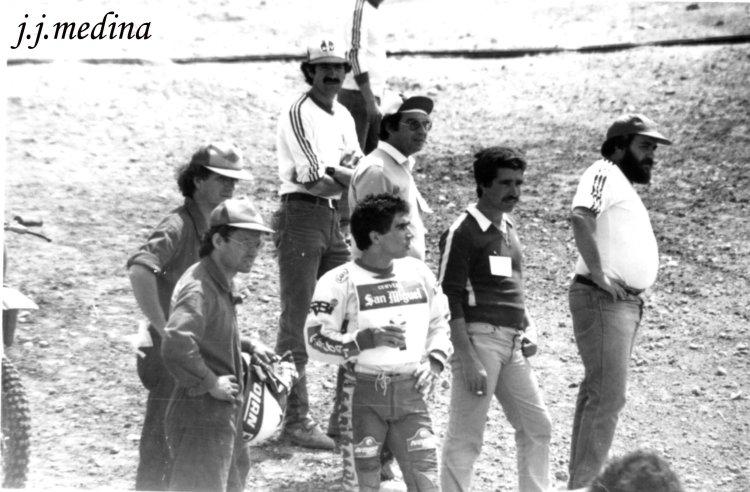 Toni Elías y Juan Álvarez, Morón 1982