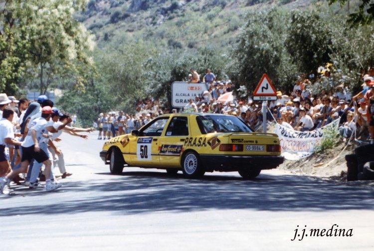 Paco López, Ford Sierra Cosworth 4x4, Subida a la Mota 1995