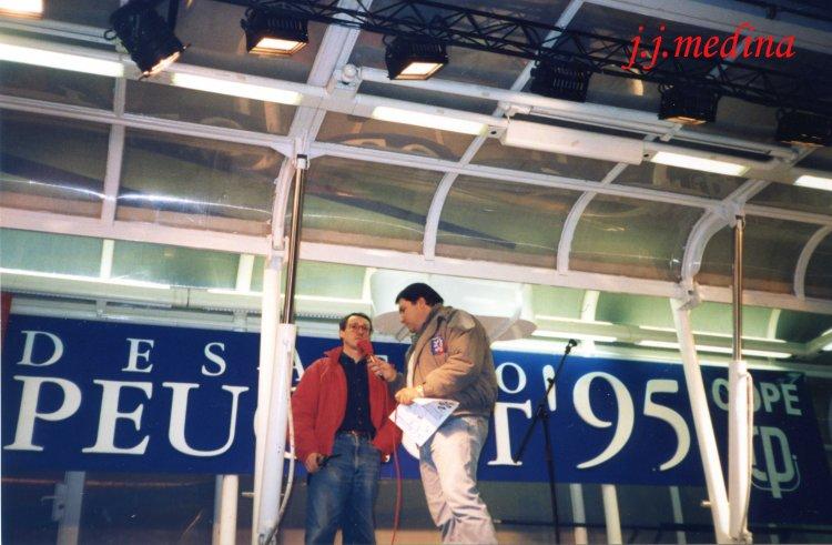 Francisco Galera y Juan Antonio Tovbaruela, Rallye de Sevilla 1995