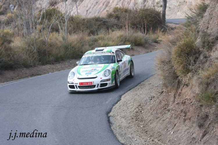 José Antonio Aznar- José Crisanto Galán, Porsche 997 GT3 Cup Rallye
