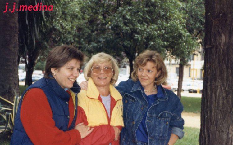 Petra, Dorotea y Andrea Boquoi