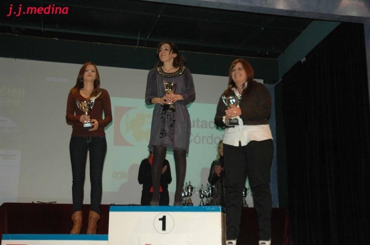 María José Pérez, Luisa Mª Benítes y Raquel Pérez