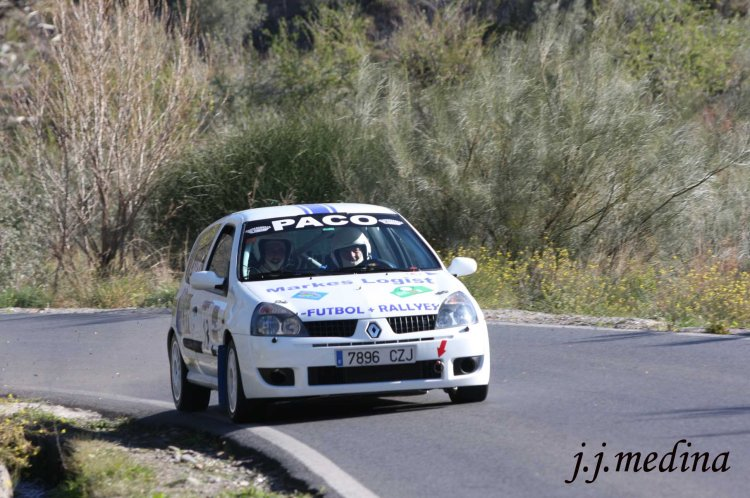 Francisco Fernández-Cristóbal Martín, Renault Clío Sport