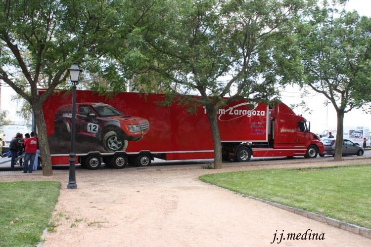 Camión de asistencia José Zaragoza,Raid del Califato 2012