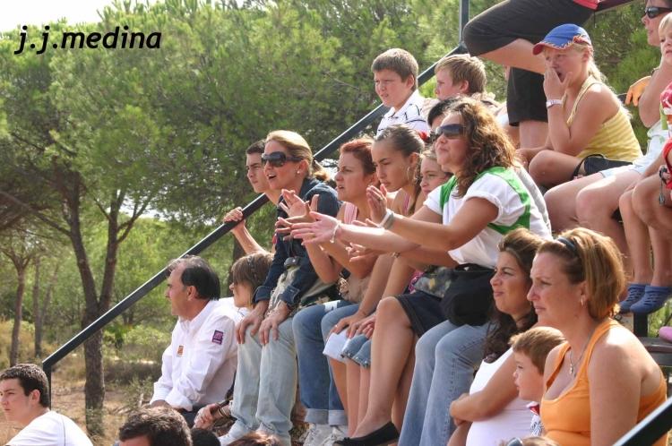 Madres en el Karting Cartaya, 2008
