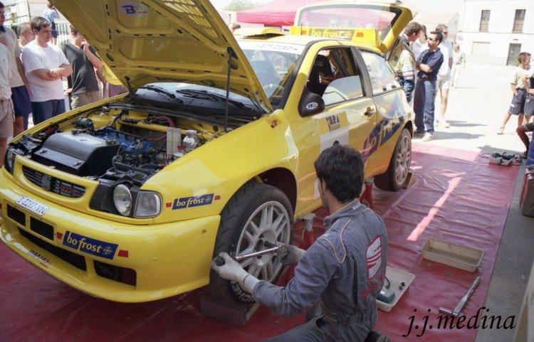 Asistencias José Luis Toril, Rallyel Minas 2001