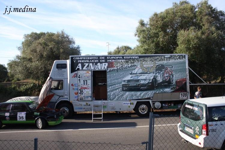 Camión de José Antonio Aznar, Subida a Vejer 2013