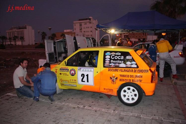Emilio Godoy y Juan Jesús Coca, Rallye Berja-Adra 2013