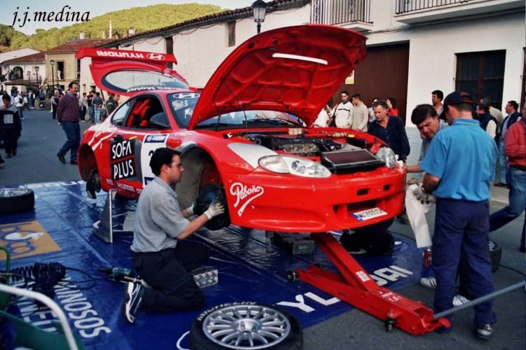 Asistencia Hyundai Coupé, R. Huelva 2003