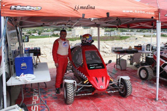 Bartolomé Cazorla, Autocross de Lucena 2013