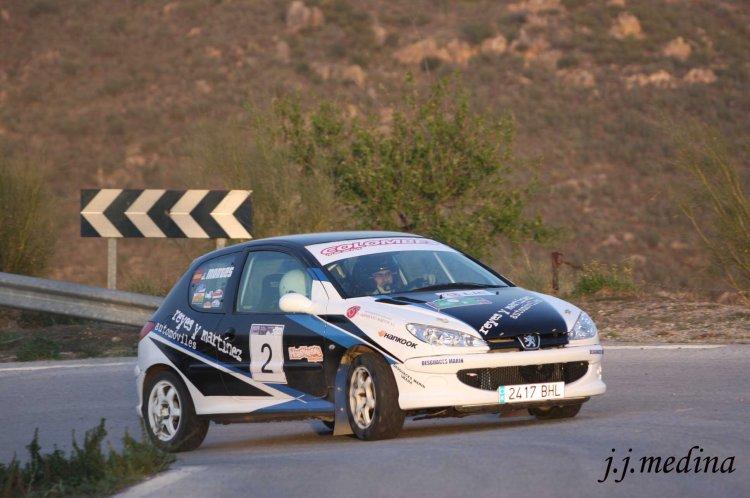 Sergio Reyes-Javi Montes, Peugeot 206 XS