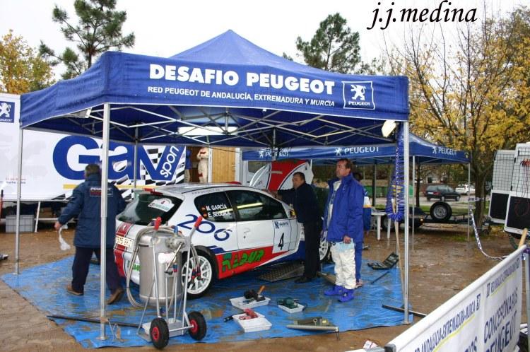 Asistencia Emilio Segura, Rallye de Villafranca 2006