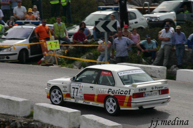 gnacio Pericet, BMW M3