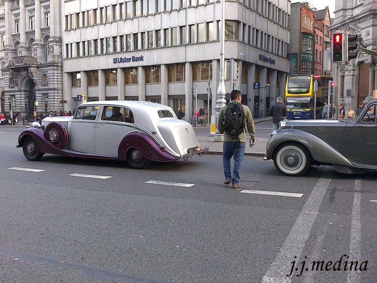 Rolls Royce y Bentley en Dublín