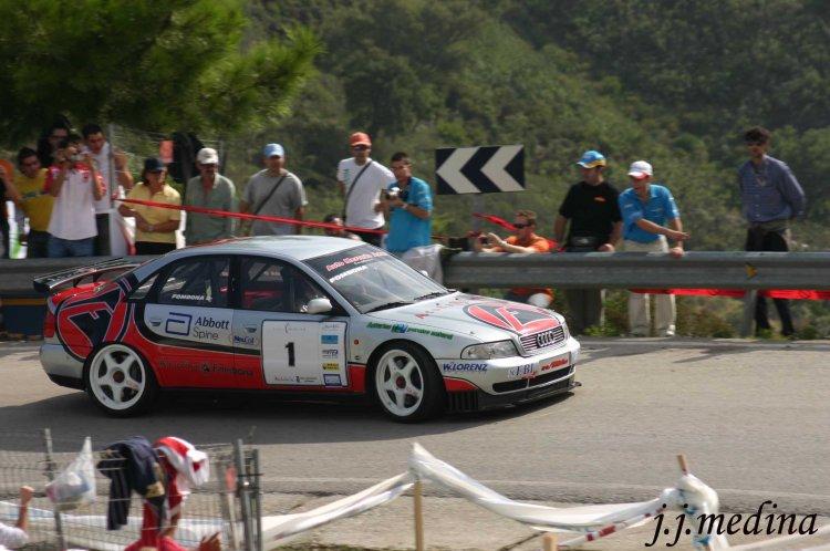 José Antonio López-Fombona, Audi A4 ST