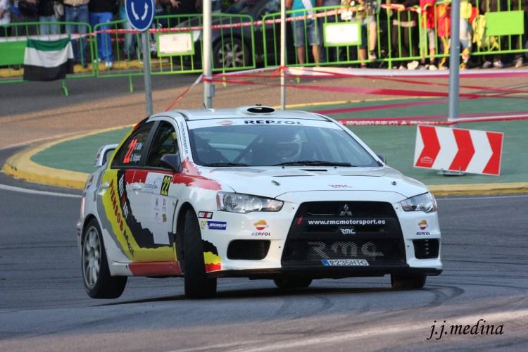 Alba-Vázquez, Mitsubishi Evo IX