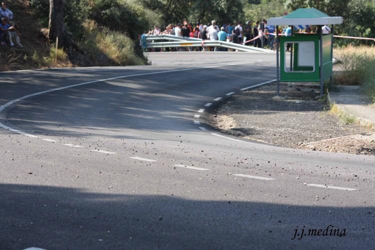 Enlazadas parada autobús