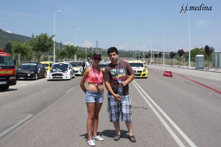 Verónica y Fernando Luque a