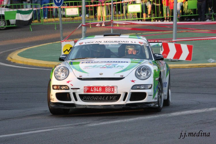 Aznar-Galán, Porsche 997 GT3 Cup