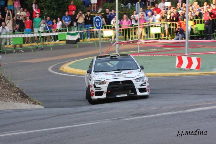 Pérez-Ramírez, Mitsubishi Evo X