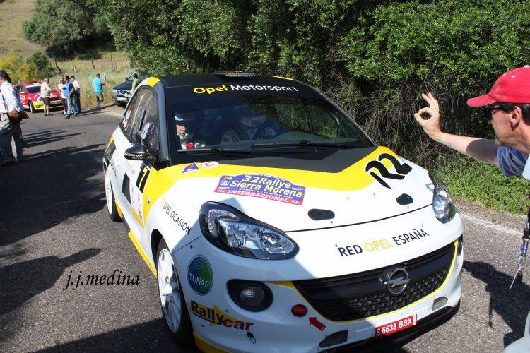 Esteban Vallín, Opel Adam R2
