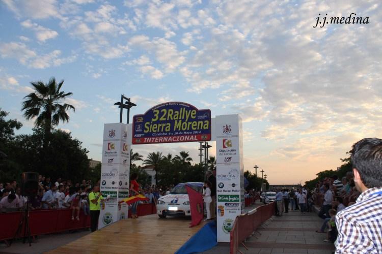 Podium del 32 Sierra Morena