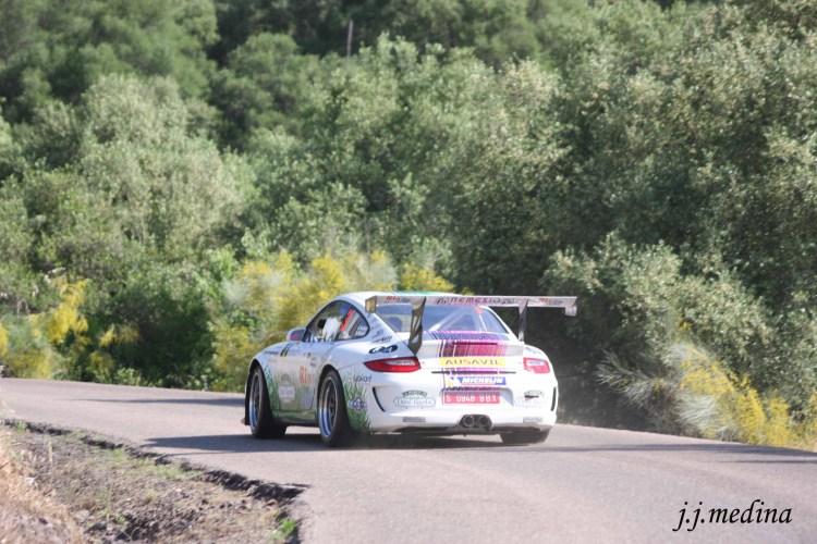 Sergio y Diego Vallejo, Porsche 997 GT3 Cup Rallye 2010