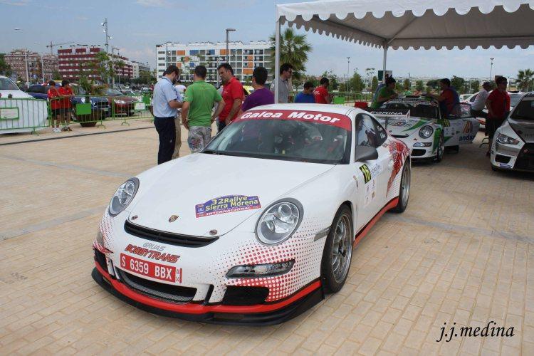 Porsche 997 GT3 Cup de Pedro Cordero