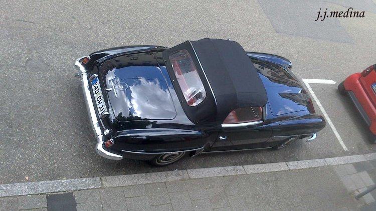 Mercedes clásico en baden-Baden